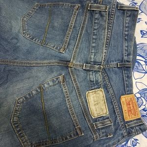 2 pair mens Jean's- Levi's & Arizona 32 33